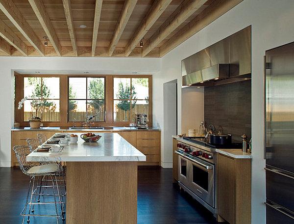 Sleek Scandinavian kitchen design