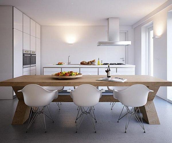 all white kitchen furniture