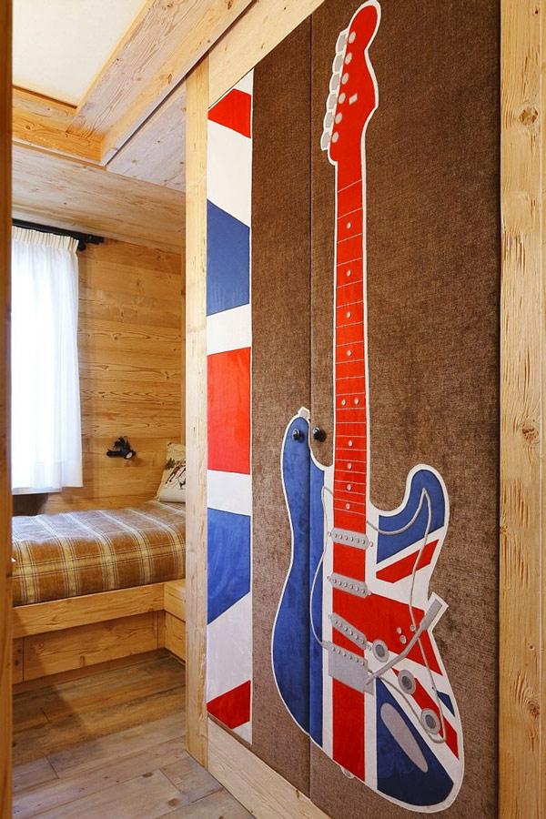 all wood kids room