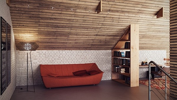 attic office space