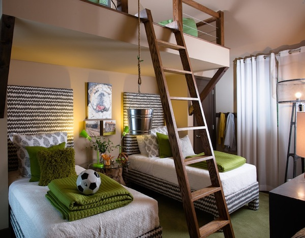cool loft bed kids