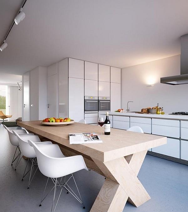 glossy white kitchen furniture