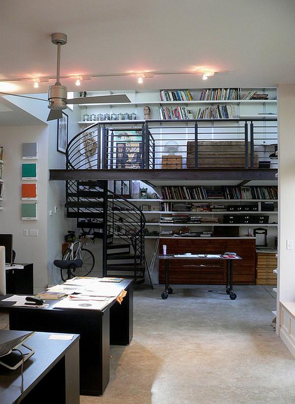 second floor studio design