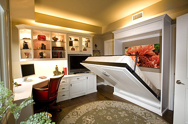 Hideaway bed solution