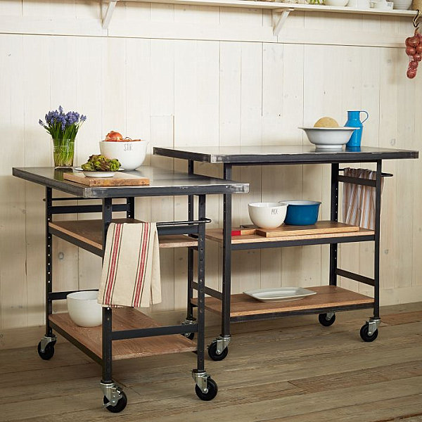 Kitchen counter space on wheels