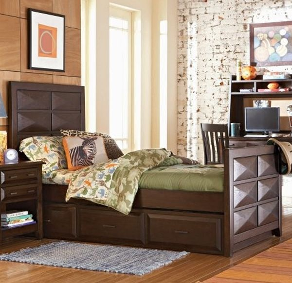 Opus Designs Treverton Trundle Bed perfect for contemporary kids' bedroom