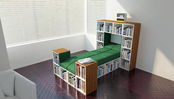 Storage-maximizing bed