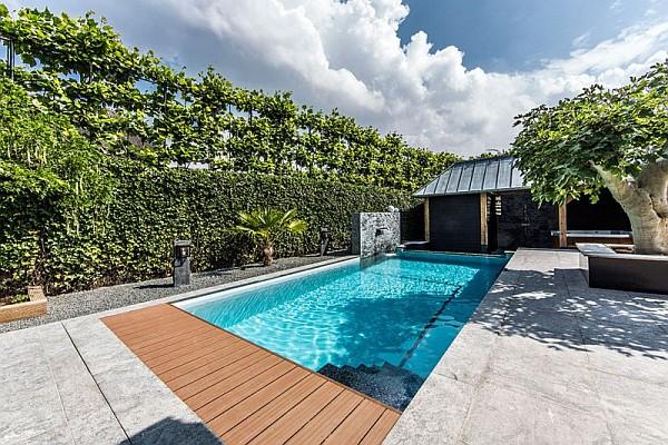 stunning backyard pool