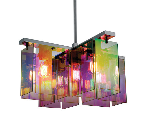 Dichroic pendant lighting
