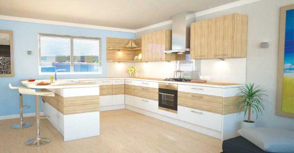 Fabulous kitchen employs neutral shades