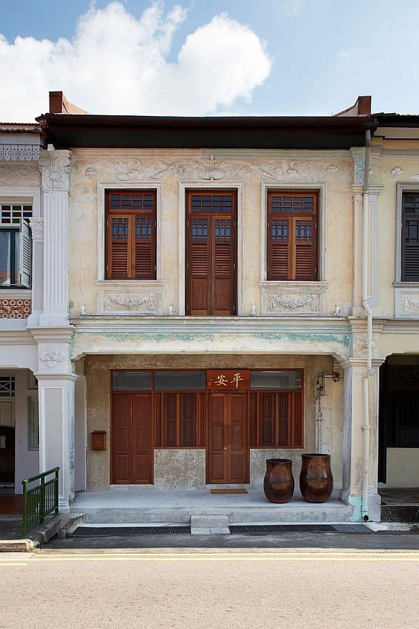 Lucky Shophouse by CHANG Architects 1