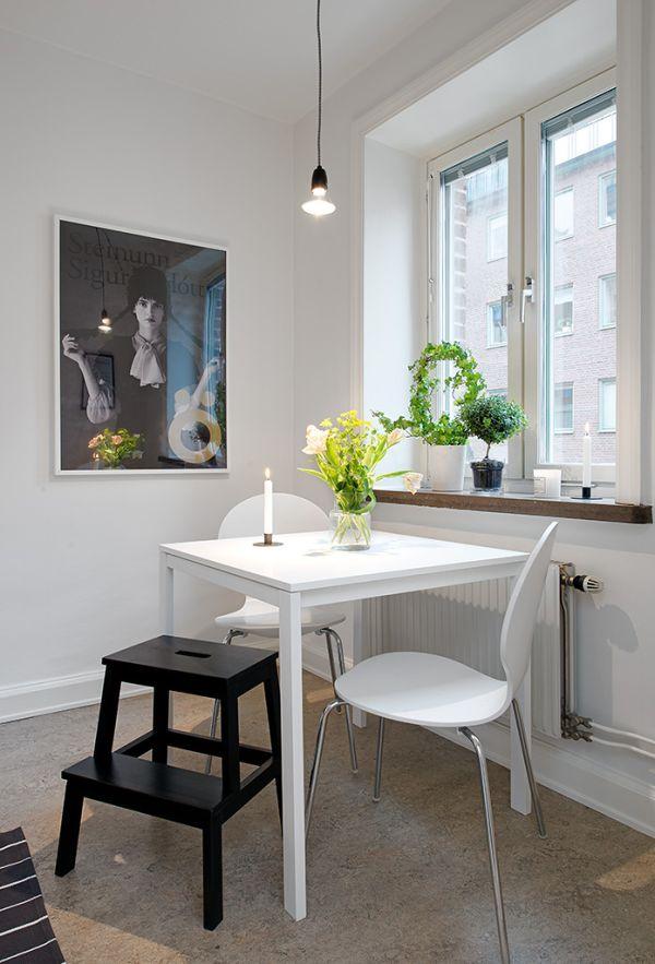 black and white swedish design