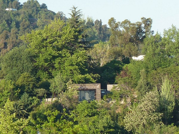 hillside loft house