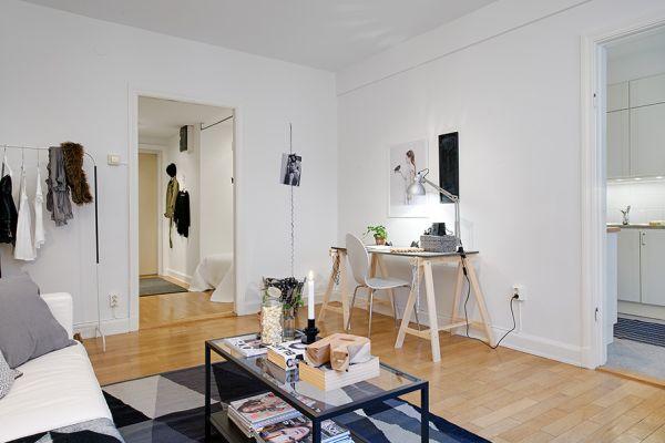 swedish interior design - small apartment
