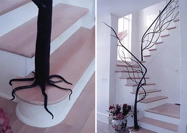 Creative staircase design inspired by nature