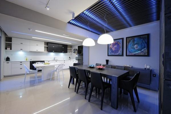 LED neon kitchen lighting