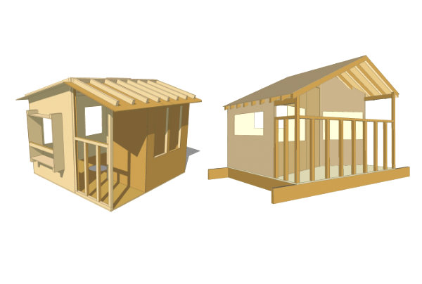 Treehouse plans from Treehouse Guides