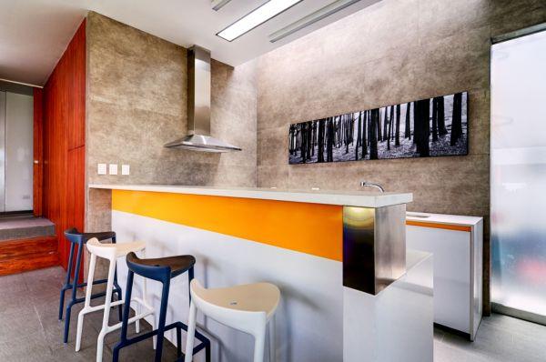 colorful kitchen decor – Peru, Lima