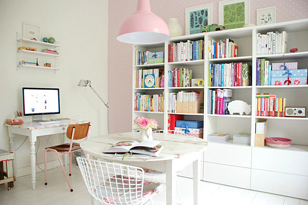 Pastel pink study