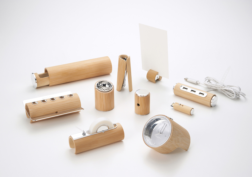 bamboo stationery set for home