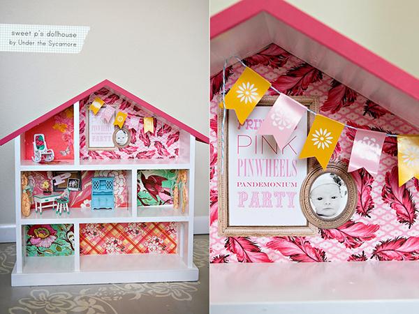 DIY Pink Dollhouse