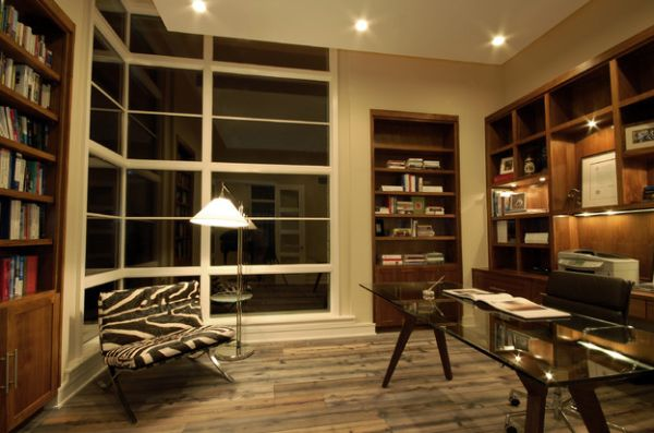 Floor lamps are a popular and smart addition to reading rooms and home offices