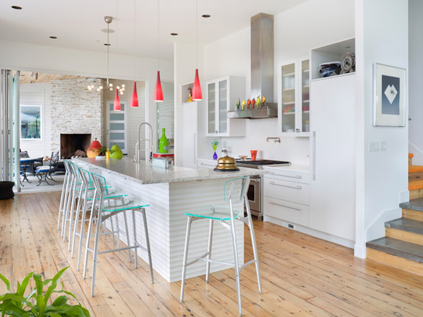 Modern White kitchen (2)