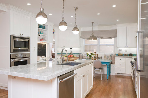 Modern White kitchen (5)