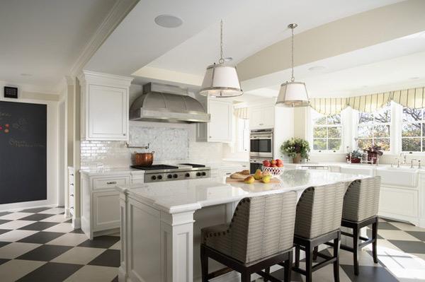 Modern White kitchen (8)