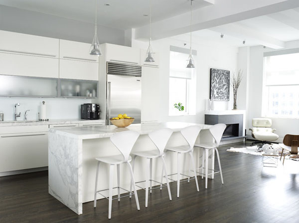 Modern White kitchen (9)