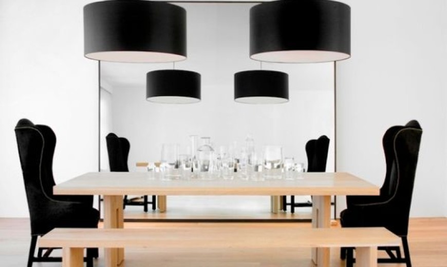 Dark Radiance: Black Lampshades Assure Bold And Beautiful Interiors With Style