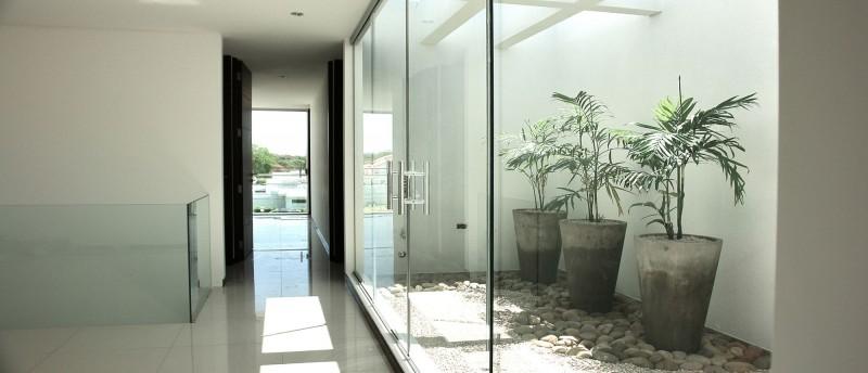 stylish glass interior design
