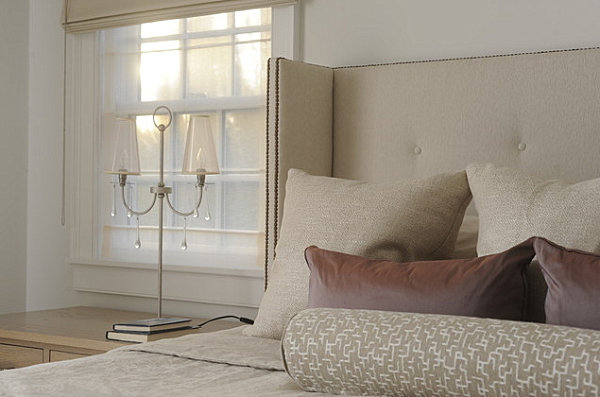 Contemporary Hamptons bedroom