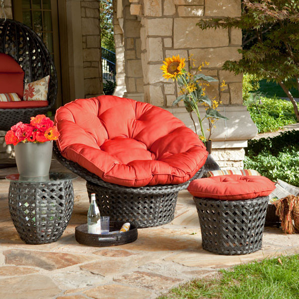 Papasan Chairs (3)