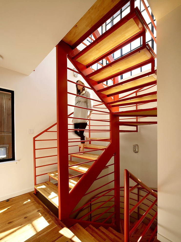 floating house – staircase
