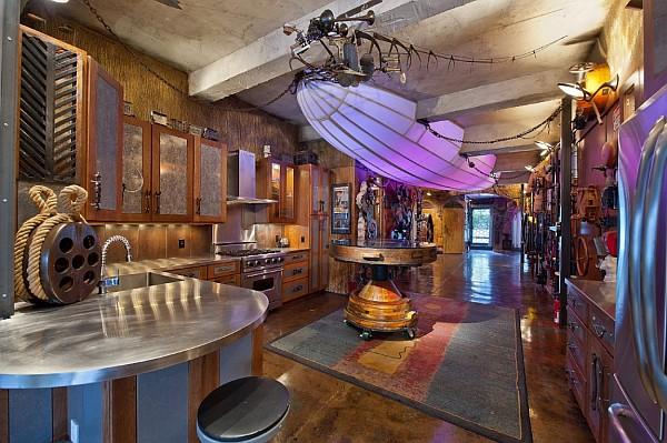 steampunk home
