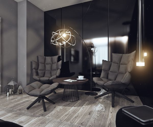 Creative lighting additions offer a modern vibe
