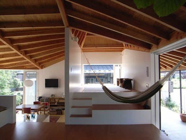 Make use of the tall ceilings