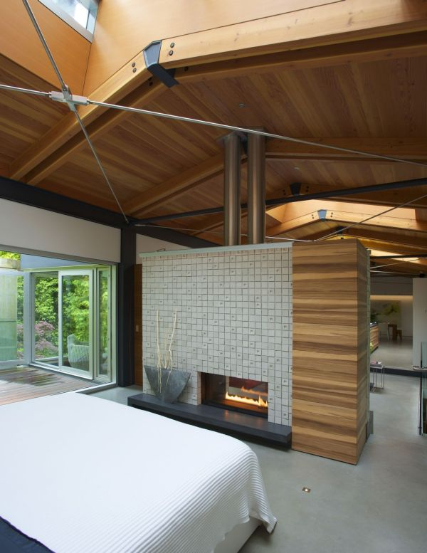 Plush contemporary bedroom at the Southlands