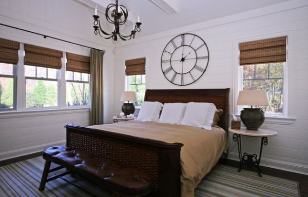 Wall clocks offer a gorgeous element of classical architecture