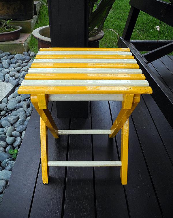 Enamel paint DIY project