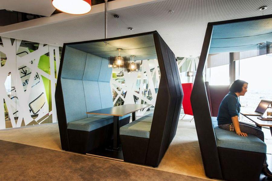 Ergonomic seating spaces