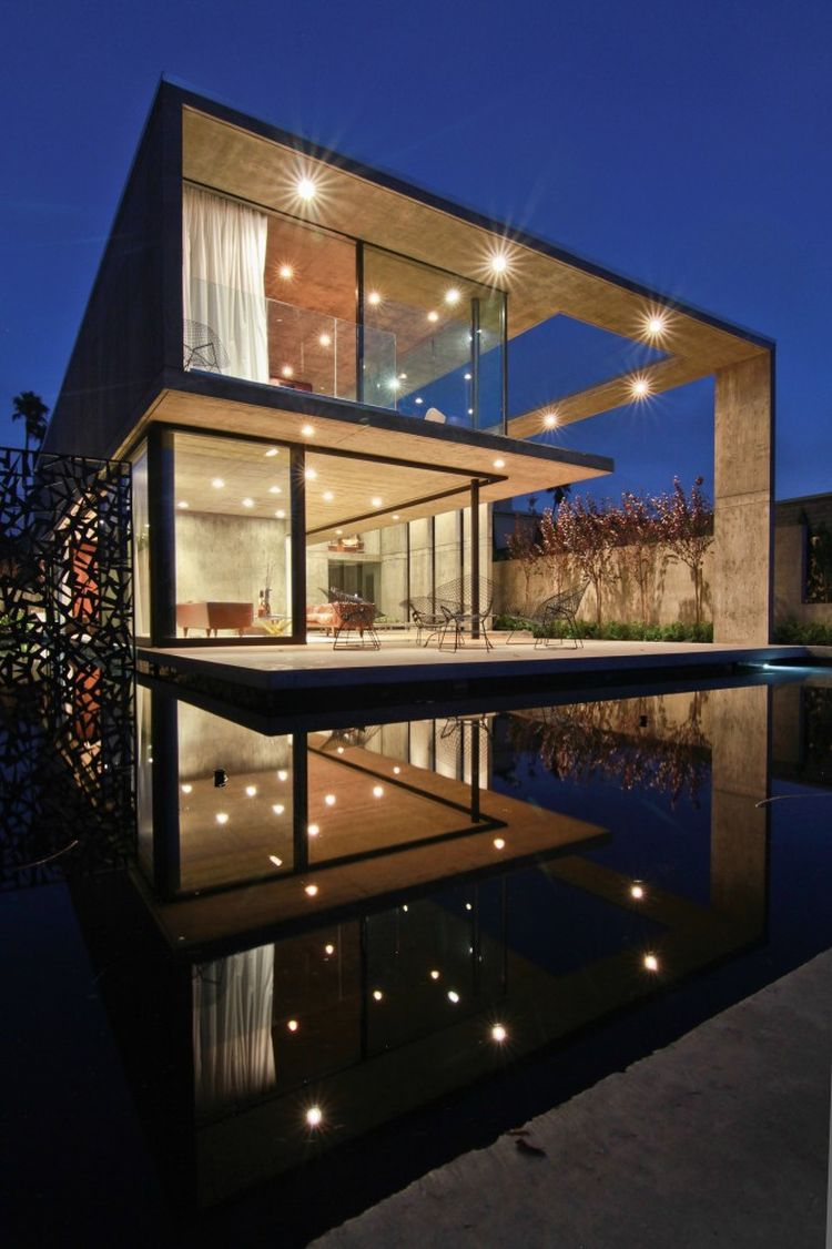 Pool enhances the lavish home