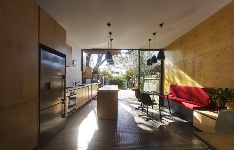 Glass doors offer lots of natural ventilation