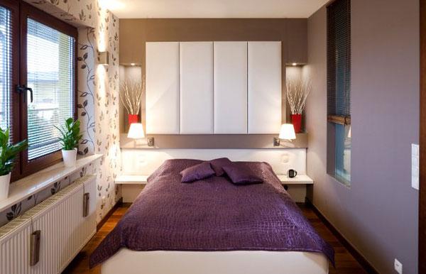Smart lighting and sleek shelves create a refined setting