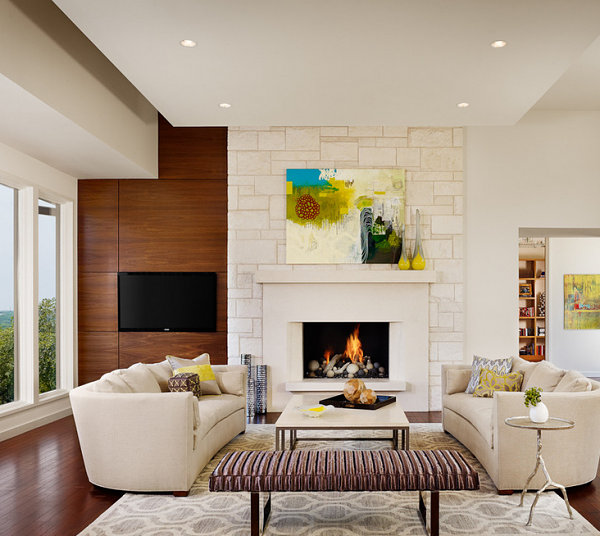 Creative details in a modern townhome
