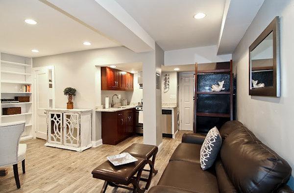 Refreshing basement condo renovation