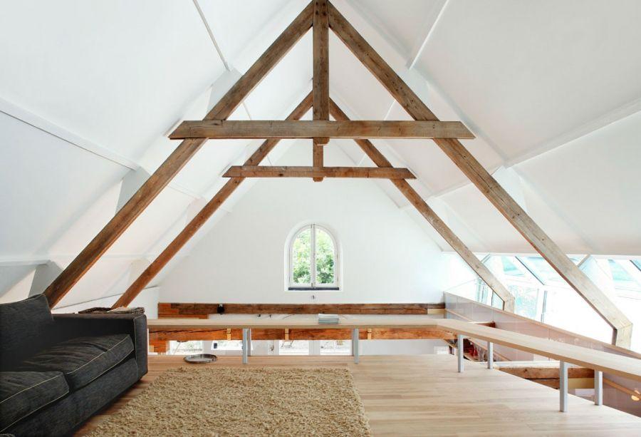 attic living space idea