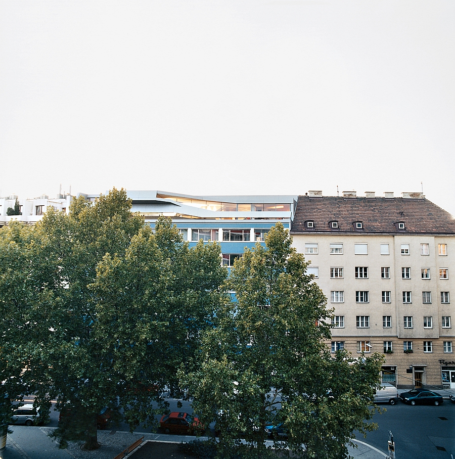 Bold Penthouse sits amidst Vienna's more classic setting