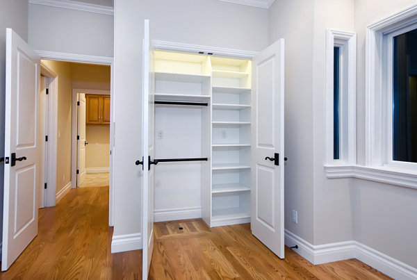 Closet filled with possibilities